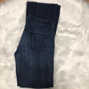 Citizens of Humanity high rise boot cut jeans